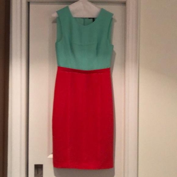 BCBGMaxAzria Dresses & Skirts - BCBG dress - size 6 - colourblock